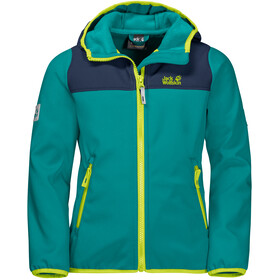 Jack Wolfskin Fourwinds Jacke Kinder green ocean
